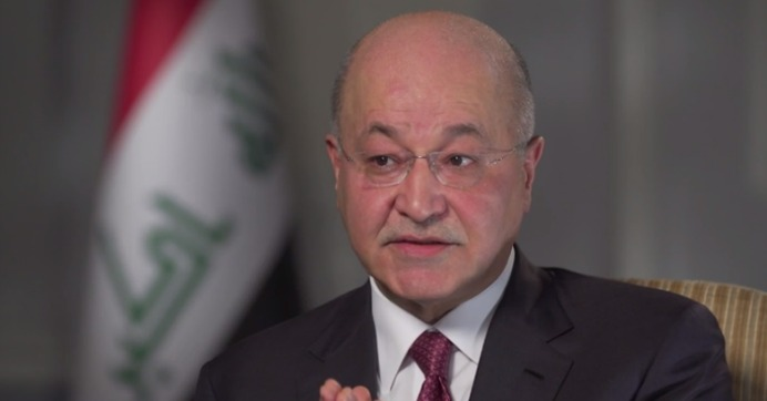 Iraqi President: US Has No Right to Use Iraq as 'Staging Post' for