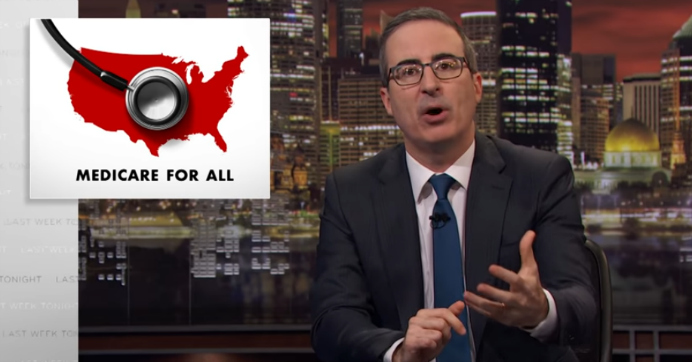 'Must-Watch TV': Comedian John Oliver Makes Case for Medicare for All, Debunks Right-Wing Talking Points
