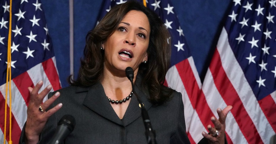 Kamala Harris, Who Just Clarified Her Rejection of Real M4All, to