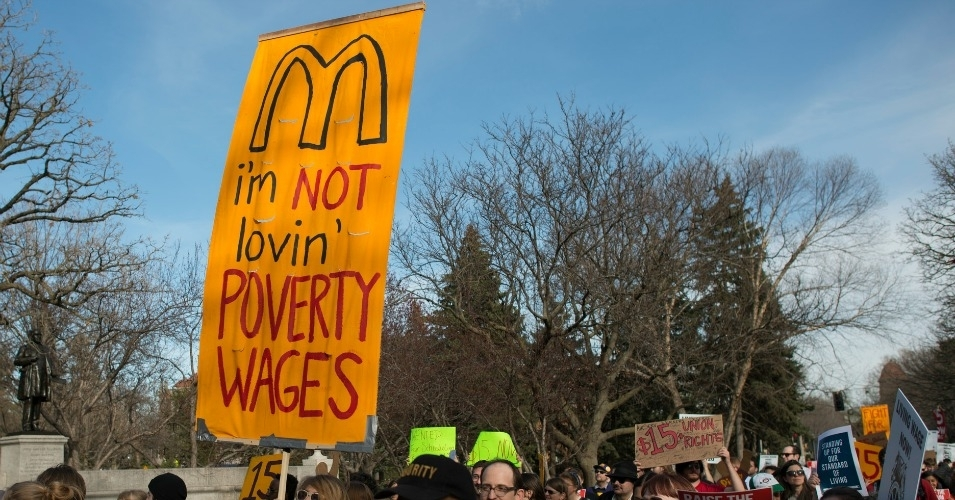 Living Wage Controversy  - cover