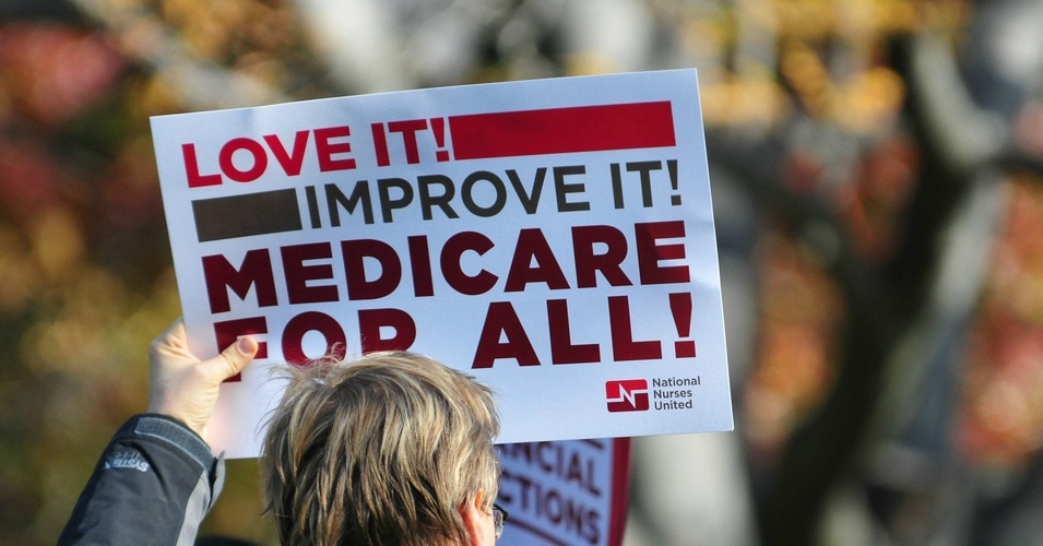 Image result for medicare for all sign