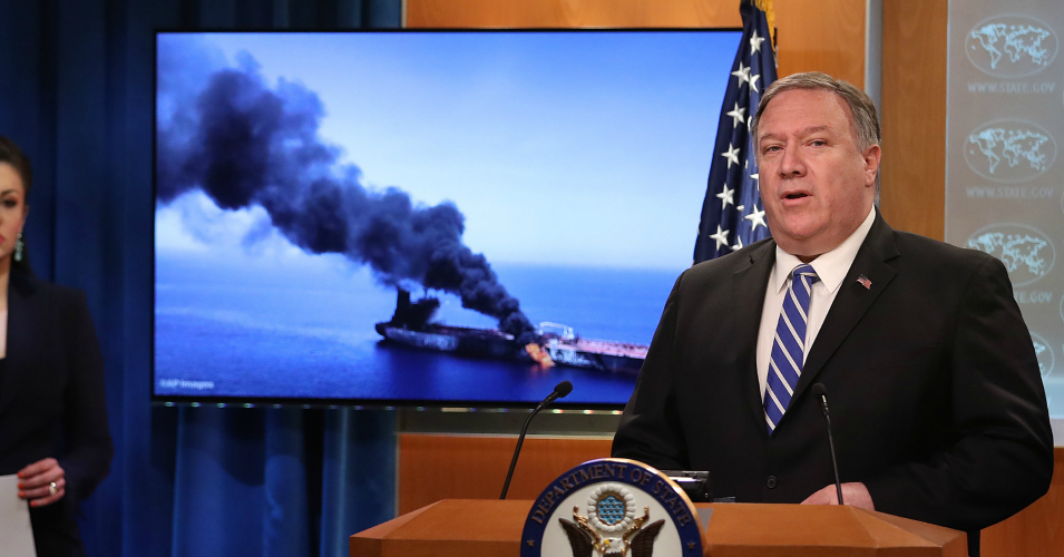 'Deja Vu' of Iraq War Lies as Mike Pompeo Blames Iran for Tanker Attack Without Single Shred of Evidence