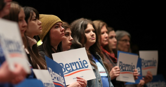 'Big-Monied Interests Are Getting Very Nervous': Sanders Leads in New