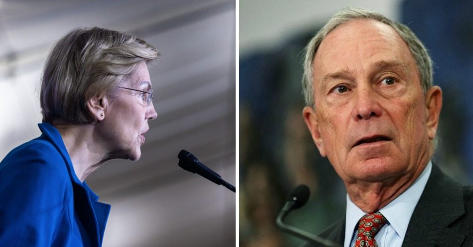 Warren Slams Bloomberg for Blaming 2008 Financial Meltdown On End of Redlining Policy
