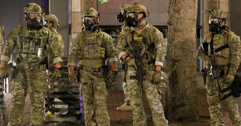 Trump Threat To Unleash Secret Police In Other Us Cities Slammed As Scheme To Steal The November Election Common Dreams News