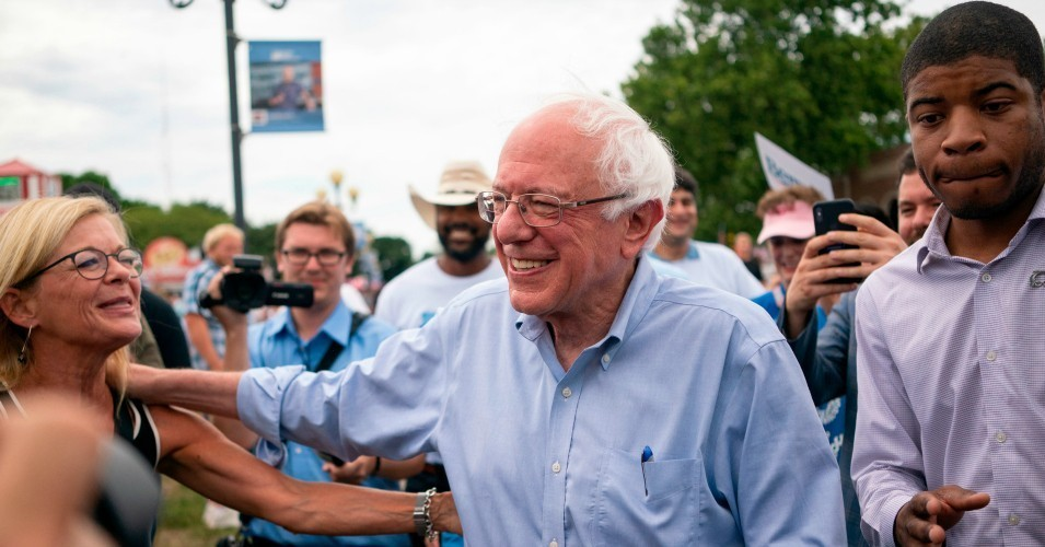 Up Six Points as Buttigieg and Biden Stall, Sanders Takes Commanding