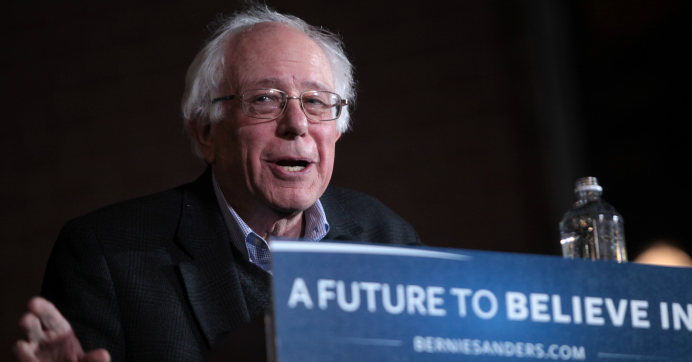 By Double-Digit Margin, Poll Shows Sanders Mopping the ...