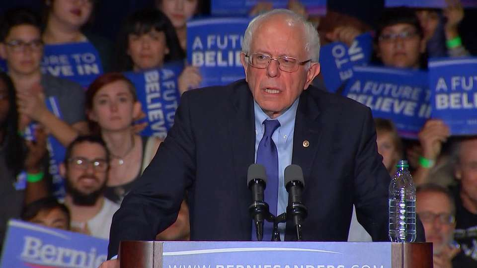Blackout Tuesday: The Bernie Sanders Speech Corporate Media Chose Not To Air
