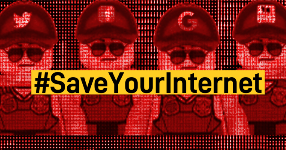 Major EU Websites Go Dark With #Blackout21 Protest Ahead of Vote to Create Internet 'Censorship Machine'