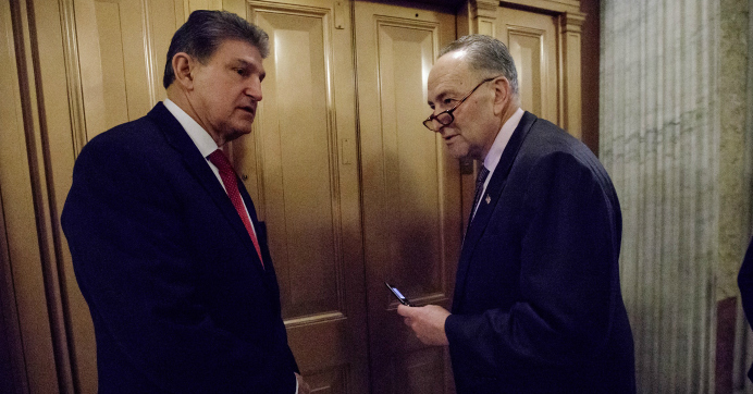 Calling Promotion Betrayal of Planet, Groups Denounce Schumer for Giving 'Fossil Fuel Servant' Joe Manchin Top Spot on Energy Committee