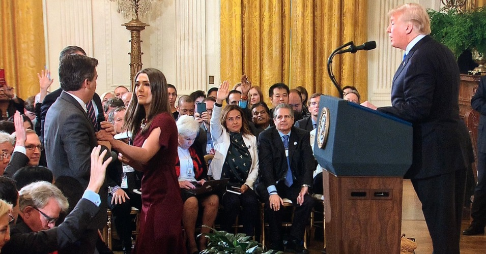 Huckabee Sanders Should Resign, Critics Say, After 'Orwellian' Distribution of Doctored Video