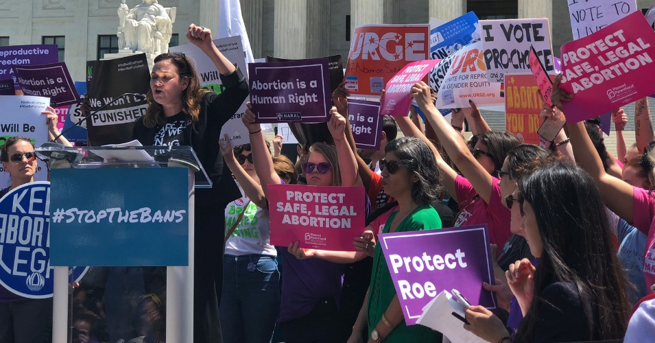 'This Is Not A Drill': Amid GOP Attack, Pro-Choice #StopTheBans Rallies Take Place Nationwide