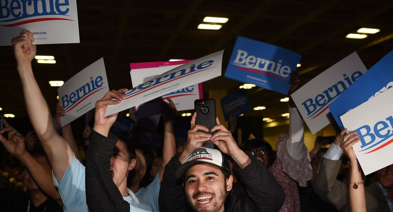 With 67% of the Vote, California Young Democrats Endorse Bernie