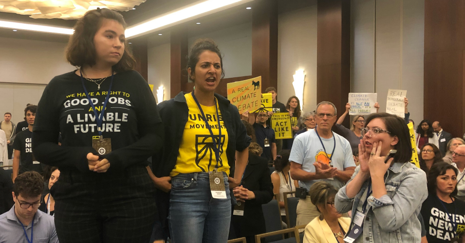 Protests Break Out After DNC Committee Votes Against Holding 2020