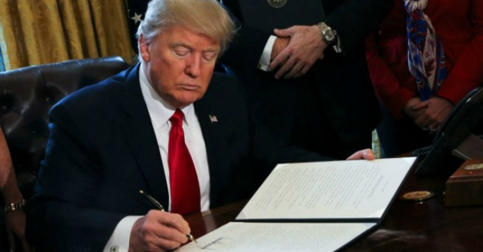 In Latest Populist Betrayal, Trump Executive Order Unchains Wall