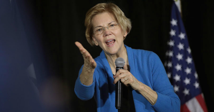 With Blocked Ads Proving Her Point, Warren Says Facebook Shouldn't Have Power to Decide What Is and Isn't Allowed for 'Robust Debate'