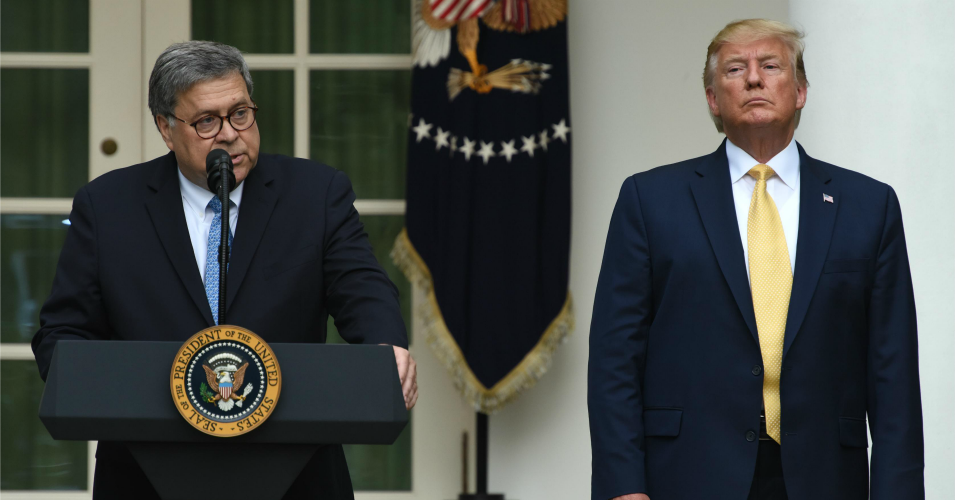 barr letter to trump