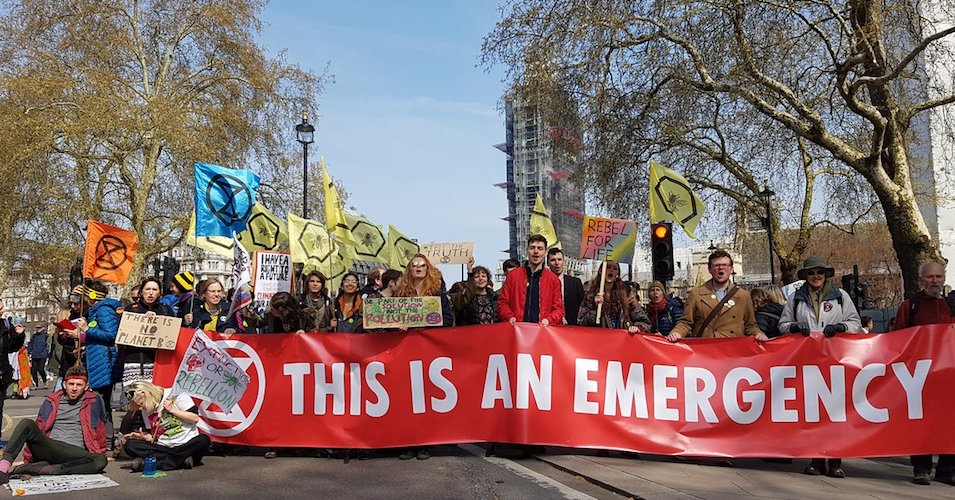 'The Time for Excuses Is Over': Extinction Rebellion Protests Shut Down European Cities