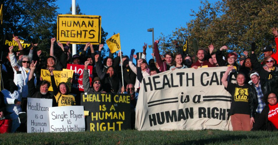 Image from Maryland health care justice march in October 2013. (Photo: United Workers/flickr/cc)