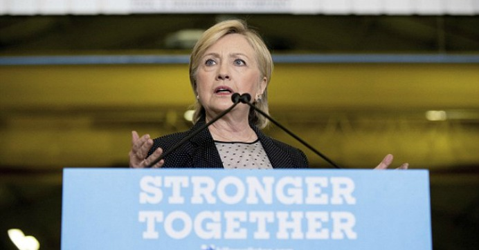 Hillary Clinton outlined her economic agenda in a speech on Thursday in Michigan. (Photo: AP)