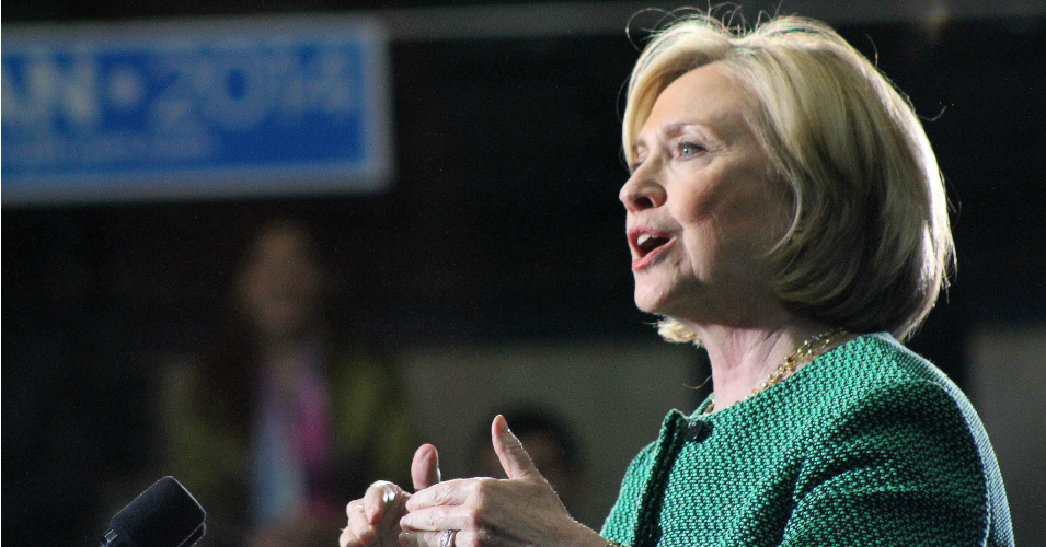 Hillary Clinton is set to announce her 2016 presidential run on Sunday. (Photo: Karen Murphy/flickr/cc)