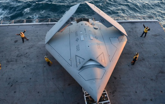 The Landing Of X 47B Pilotless Drone Is Just Precursor To Future Warfare Photo Timothy Waller USNavy