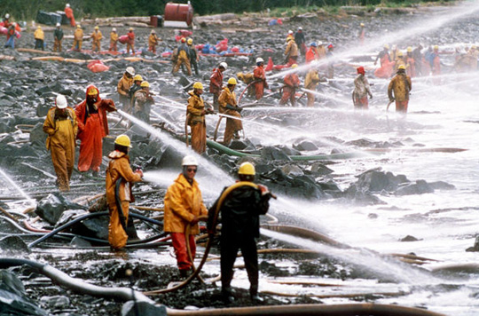 Exxon Valdez oil spill of 1989