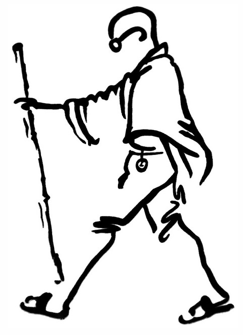 gandhiji standing coloring pages - photo#23