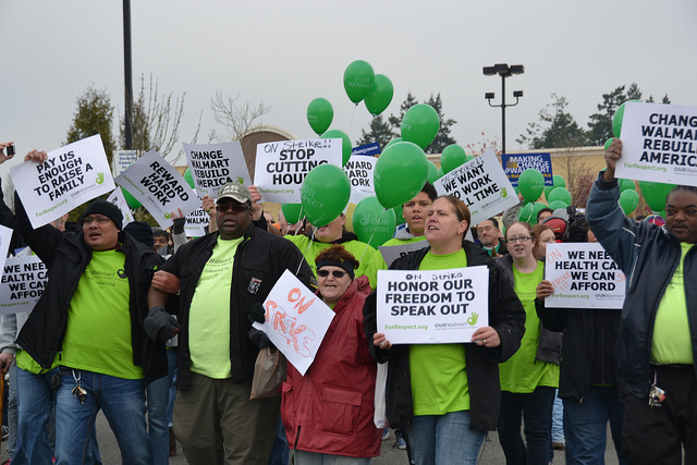 Walmart Sues Groups For Protesting Its Poor Working