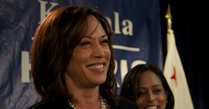 """Kamala Harris, pictured here in 2010, whom political commentator Van Jones said """"is going to become a big deal."""" (Photo: Steve Rhodes/flickr/cc)"""