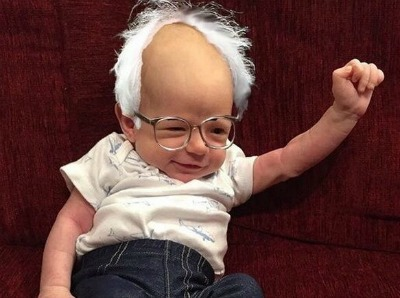 Image result for baby bernie sanders