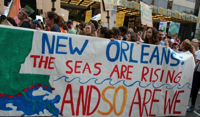 """New Orleans: The Seas Are Rising And So Are We"" (Common Dreams: CC BY-SA 3.0 US)"