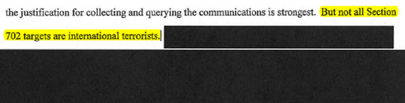 FOIA document screenshot