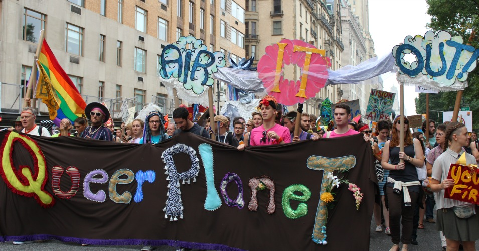 Image from the People's Climate March September 21, 2014. (Common Dreams: CC BY-SA 3.0 US)