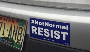 #NotNormal RESIST Sticker