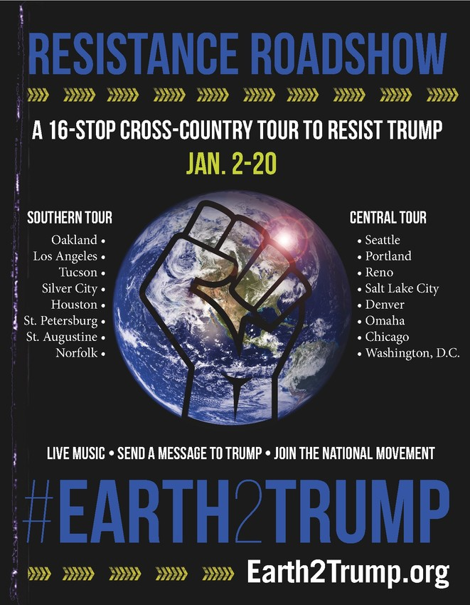 #Earth2Trump image from the Center for Biological Diversity