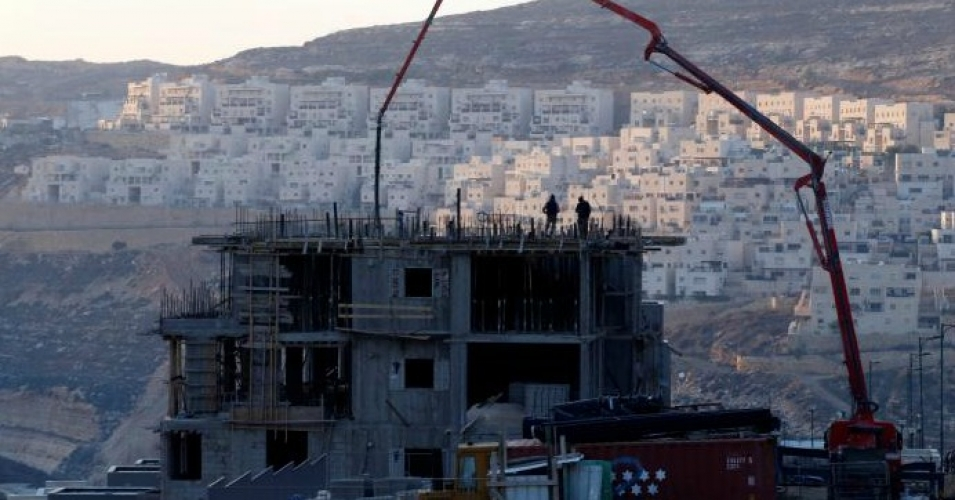 A construction site in the Israeli settlement of Givat Zeev, in the occupied West Bank December 22, 2016. (Photo: Reuters)