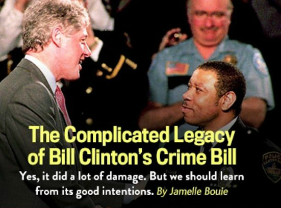 "Did Slate say the 1994 crime bill had ""good intentions""? That was just ""promotional copy,"" says Jamelle Bouie."