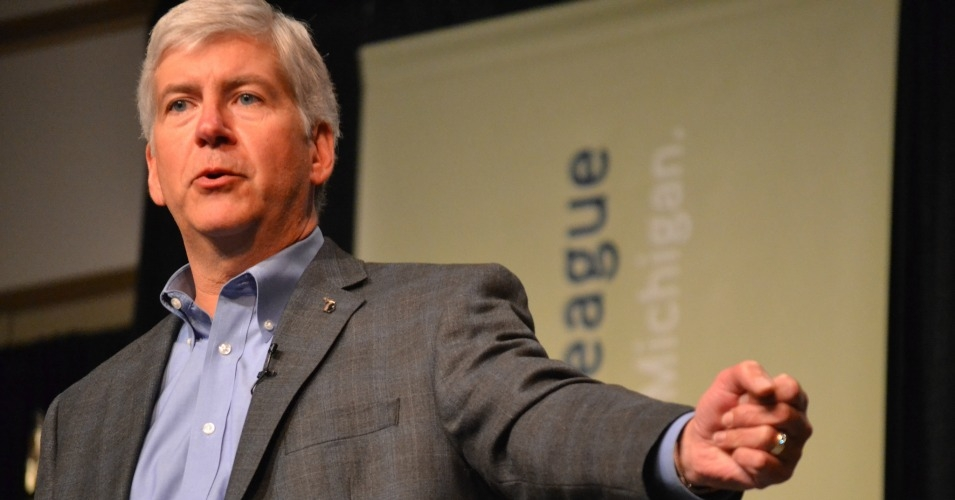 New emails show Michigan Governor Rick Snyder could have declared a state of emergency in Flint over its water contamination crisis months earlier than he did. (Photo: Michigan Municipal League/flickr/cc)