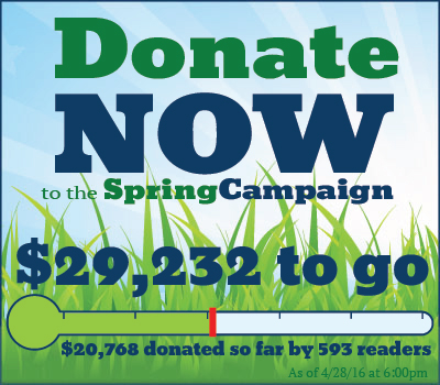 Donate Now! $32,736 to go.