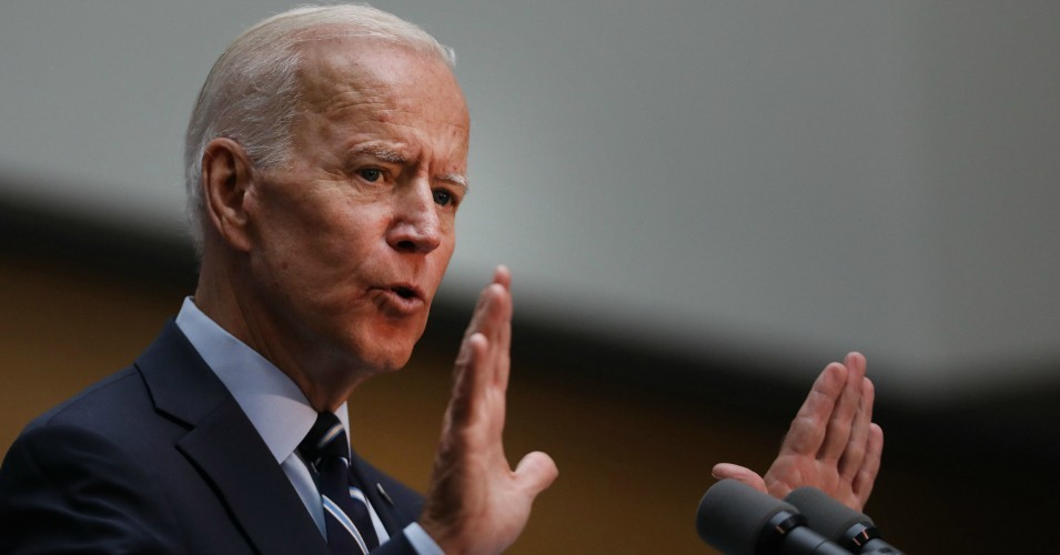 Former Vice President Joe Biden, a 2020 Democratic presidential candidate, gives a speech on July 11, 2019 in New York City.
