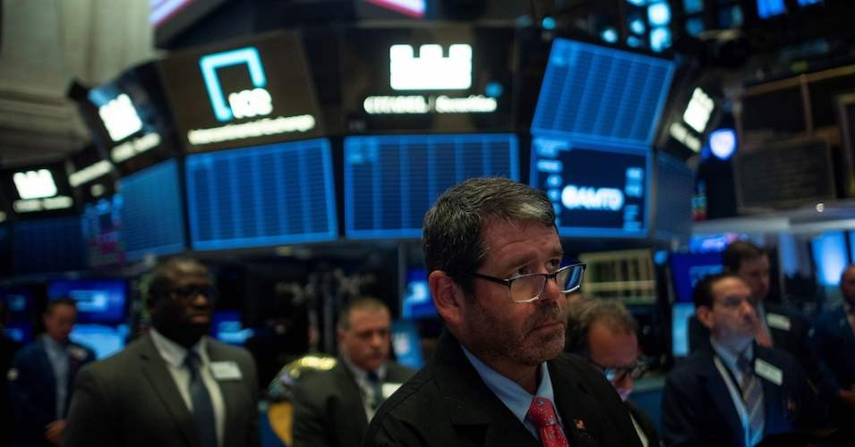 Neither GDP nor the Dow is a good measure of economic performance. Neither tells us what's happening to ordinary citizens' living standards or anything about sustainability. (Photo: Johannes Eisle/AFP/Getty Images)
