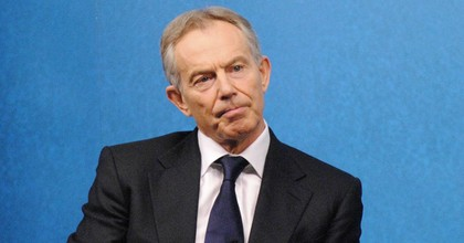 Former Prime Minister Tony Blair speaking at an event in 2012. (Photo: Chatham House/flickr/cc)