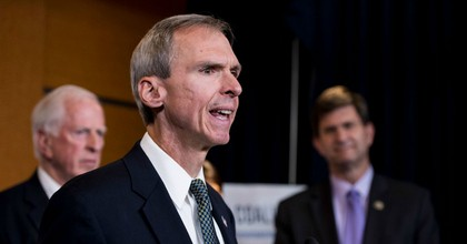 """""""Dan Lipinski inherited this seat from his father and then voted against Obamacare, voted to deregulate Wall Street, chairs the Pro-Life Caucus, and was the only Democrat in Congress to oppose an LGBTQ equality bill,"""" said the Progressive Change Campaign Committee. (Photo: Bill Clark/CQ Roll Call/AP)"""