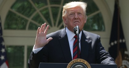 President Donald Trump speaks about immigration reform in the Rose Garden of the White House on May 16, 2019 in Washington, D.C. (Photo: Alex Wong/Getty Images)