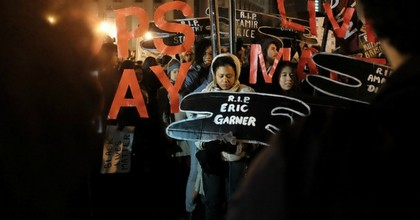Garner's death galvanized racial justice protests around the country. (Photo: Christian Matts/flickr/cc)