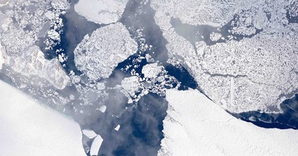 The Greenland ice sheet may melt at a pace that could break records set in 2012 this year as a heatwave from Europe turns north. (Photo: NASA/Flickr)