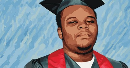 Mike Brown's brutal and unnecessary death prompted fierce community protests and national outrage from a community that had long been the victim of systemic discrimination and abuse by the U.S. criminal justice system. (Image via The Advancement Project)