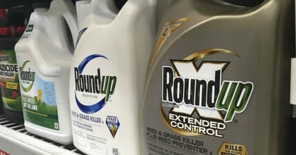 Containers of Roundup are displayed on a store shelf in San Francisco. (Photo: Haven Daley/AP)