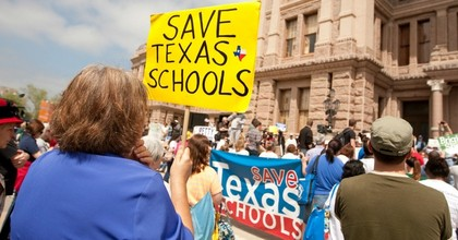 A 2012 Save Texas Schools rally in Austin. (Photo: The Texas Tribune/flickr/cc)